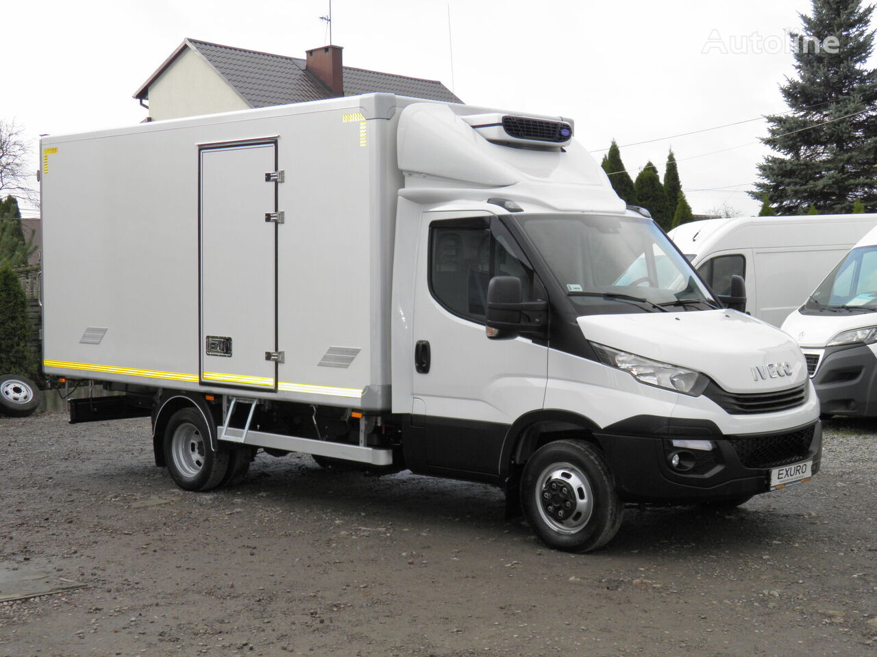 IVECO Daily 50-150 CHŁODNIA 8 PALET CARRIER VIENTO 300 SALON EURO6 AdB refrigerated truck < 3.5t