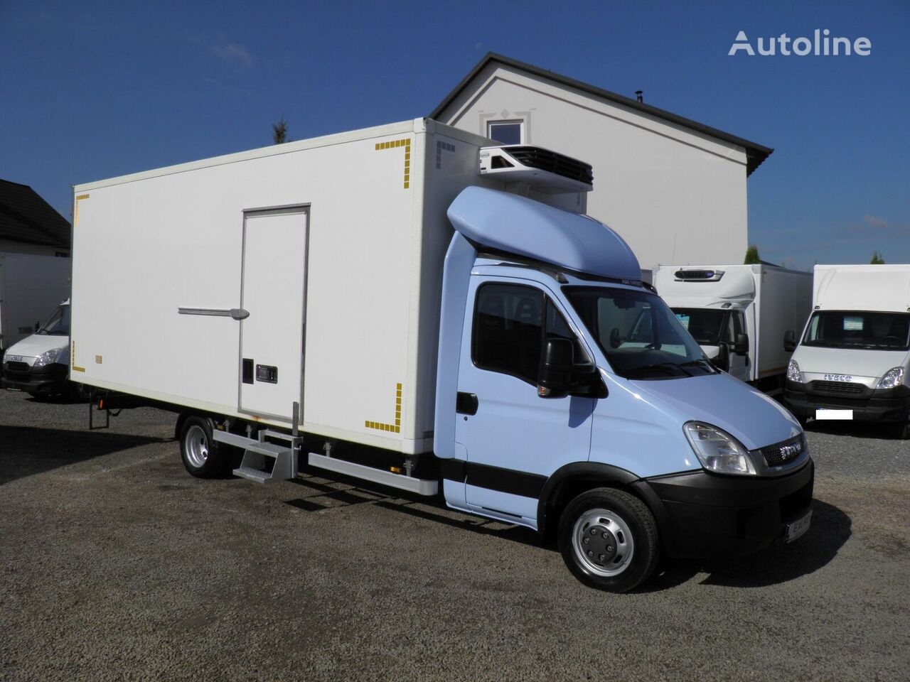IVECO Daily  50C18 do 3.5t chłodnia 5.90m Carrier Xarios 350 zasilanie refrigerated truck < 3.5t