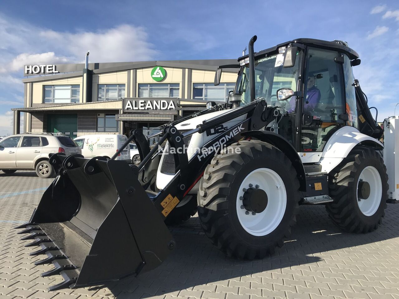 new HIDROMEK  102S Alpha A1 backhoe loader