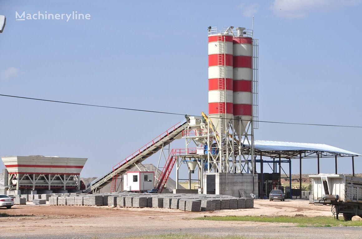 new MESAS MES-35  concrete plant
