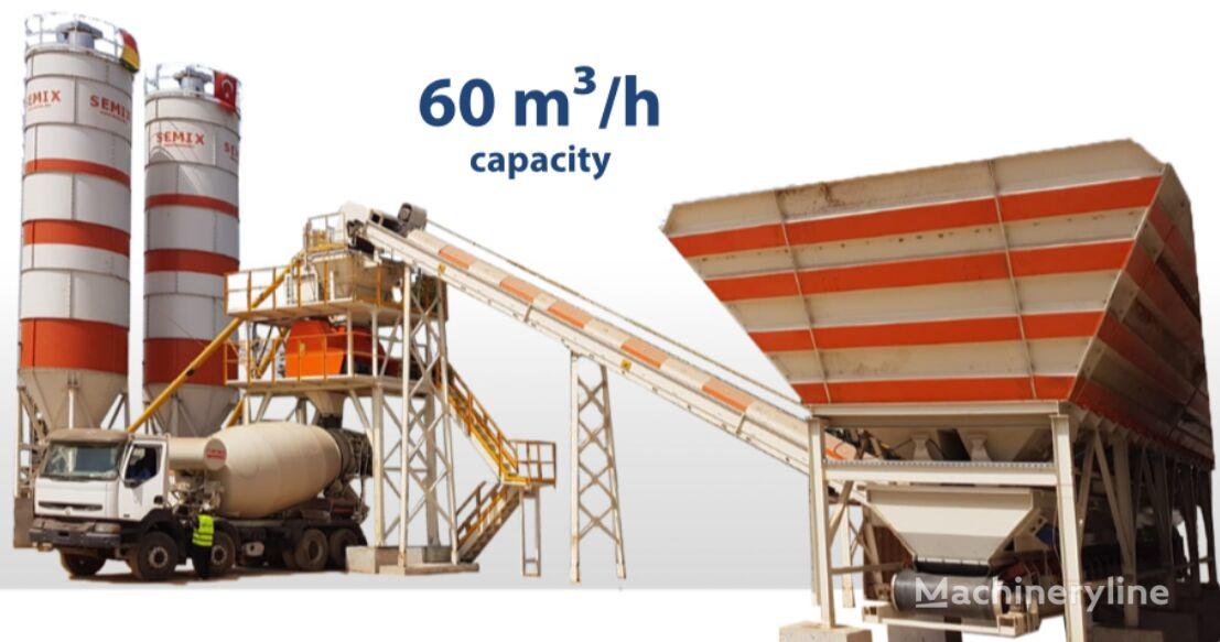 SEMIX SEMIX Stationary  concrete plant