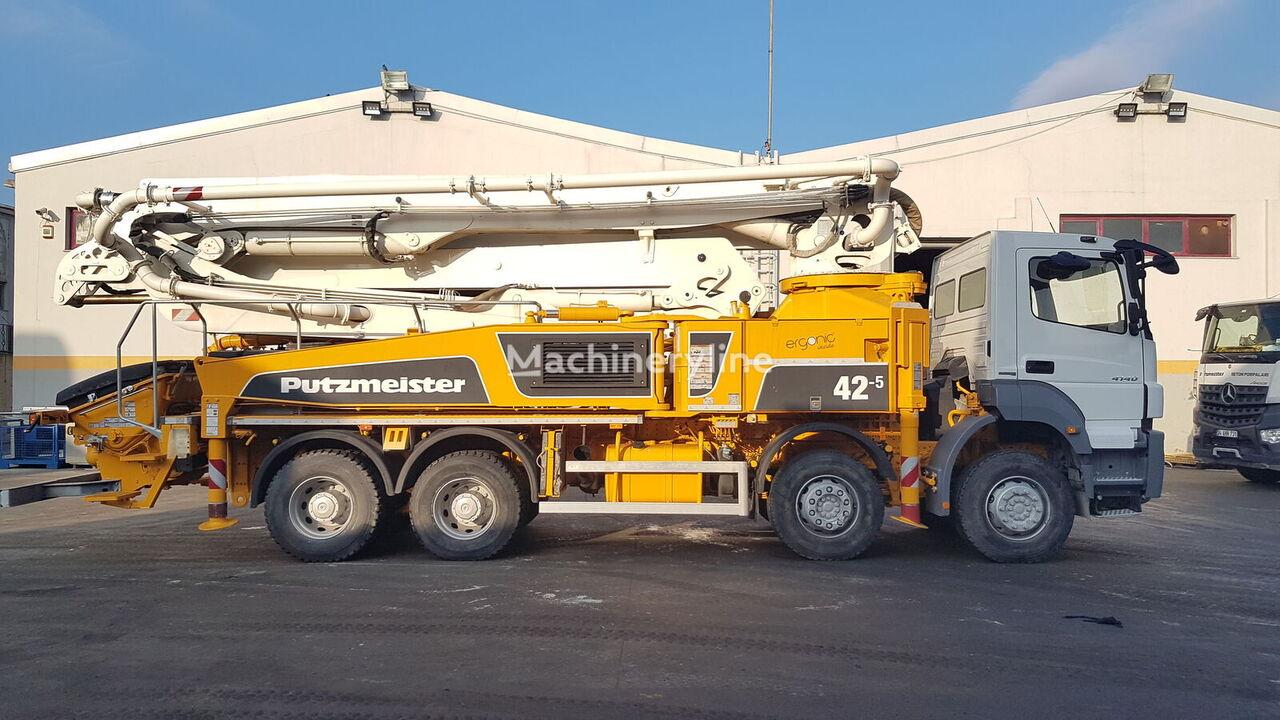 MERCEDES-BENZ  Axor 4140 8x4 - 2016 Putzmeister 42 - 950 WORKING HOURS concrete pump