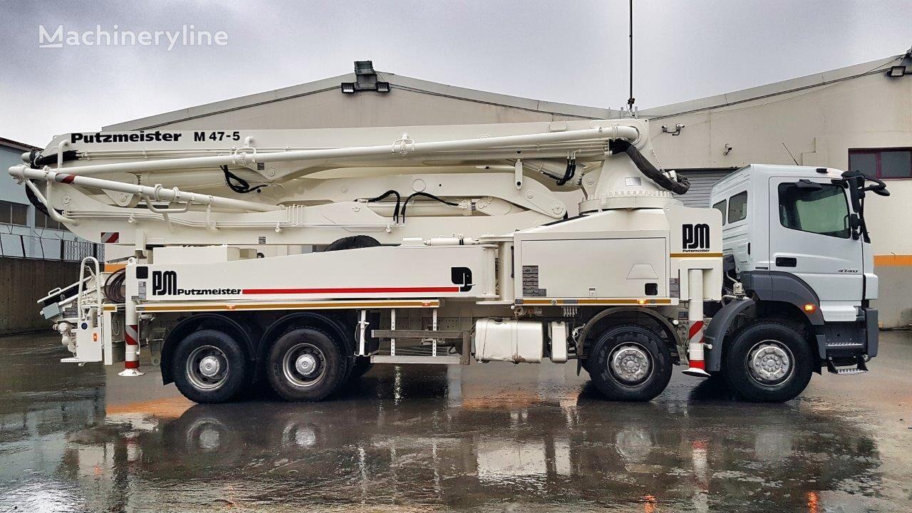 MERCEDES-BENZ Axor 4140 8x4 - Putzmeister 47 - 2200 WORKING HOURS  concrete pump