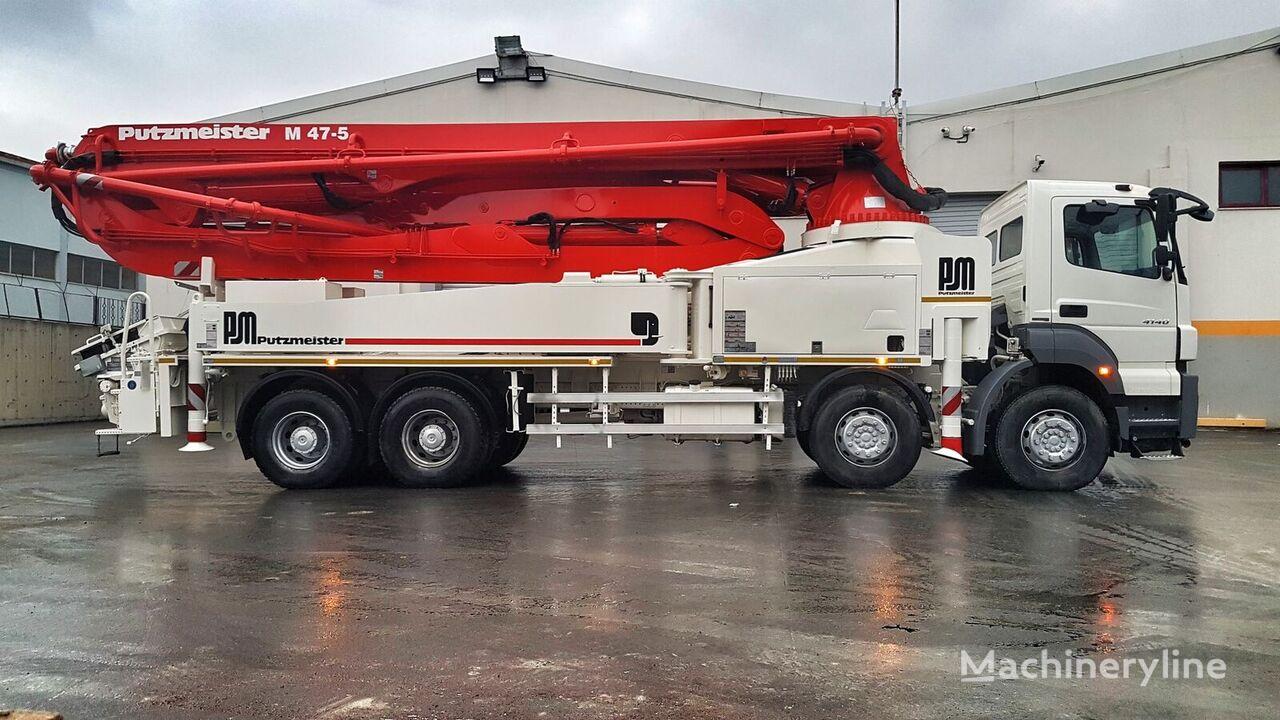 MERCEDES-BENZ Axor 4140 8x4 - Putzmeister 47 Meter  concrete pump