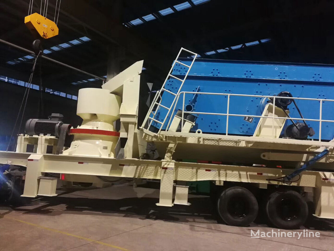 METSO GP11F  crushing plant