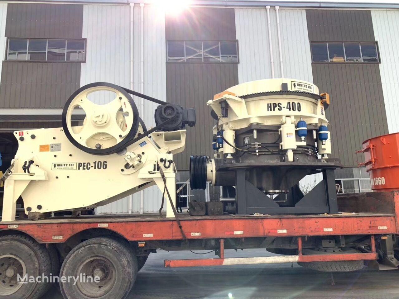 new METSO PEC106 crushing plant