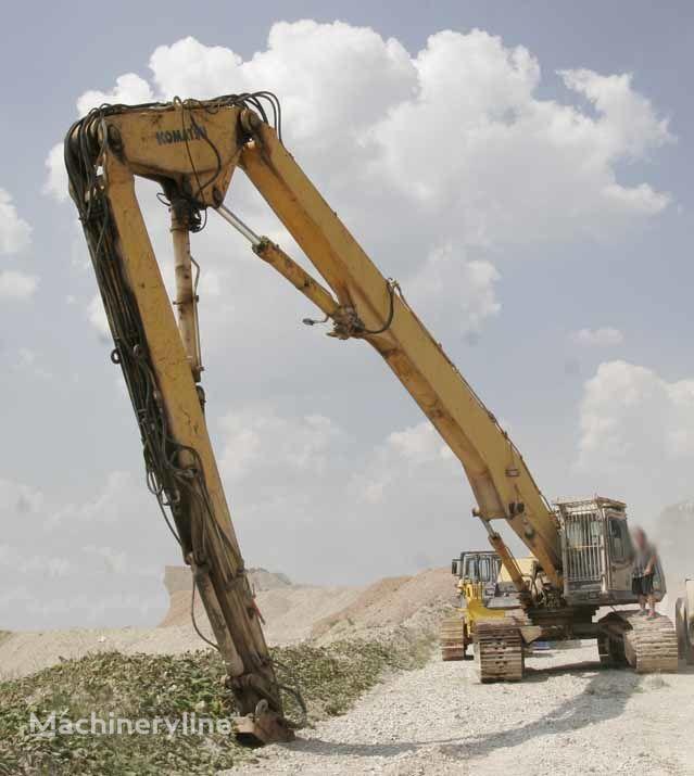 KOMATSU PC400LC – Longfront  Abbruchbagger / Demolition excavator demolition excavator