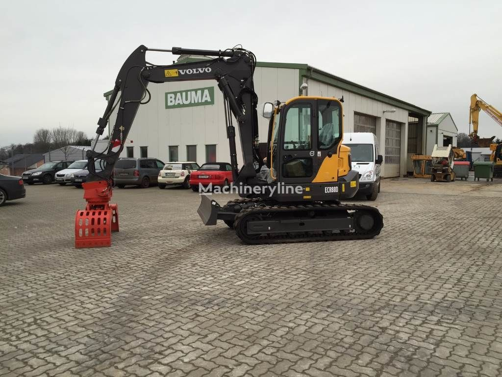 VOLVO ECR 88 D MIETE RENTAL demolition excavator