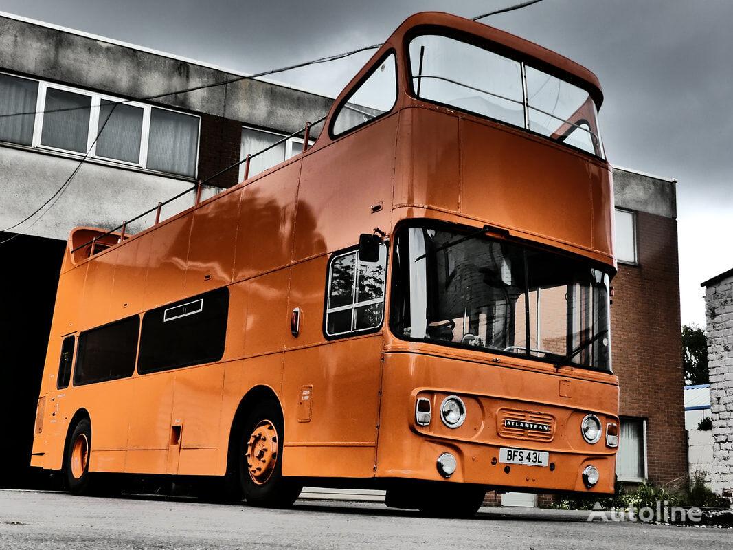 Leyland Atlantean British Double Decker mobile bar double decker bus