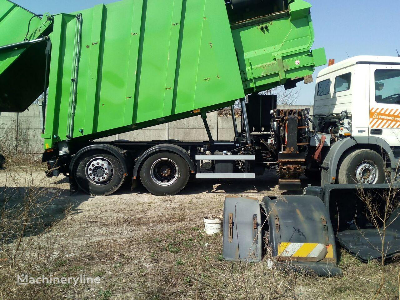FAUN SIDEPRESS garbage truck body