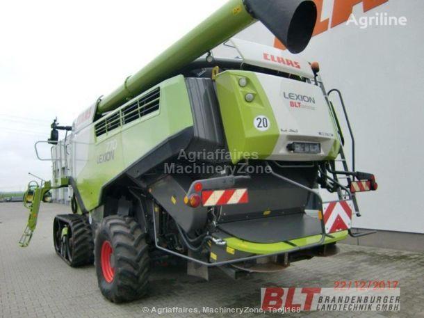 CLAAS LEXION 760 TERRA TRAC combine-harvester
