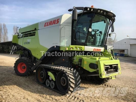 CLAAS Lexion 760 TT forage harvester