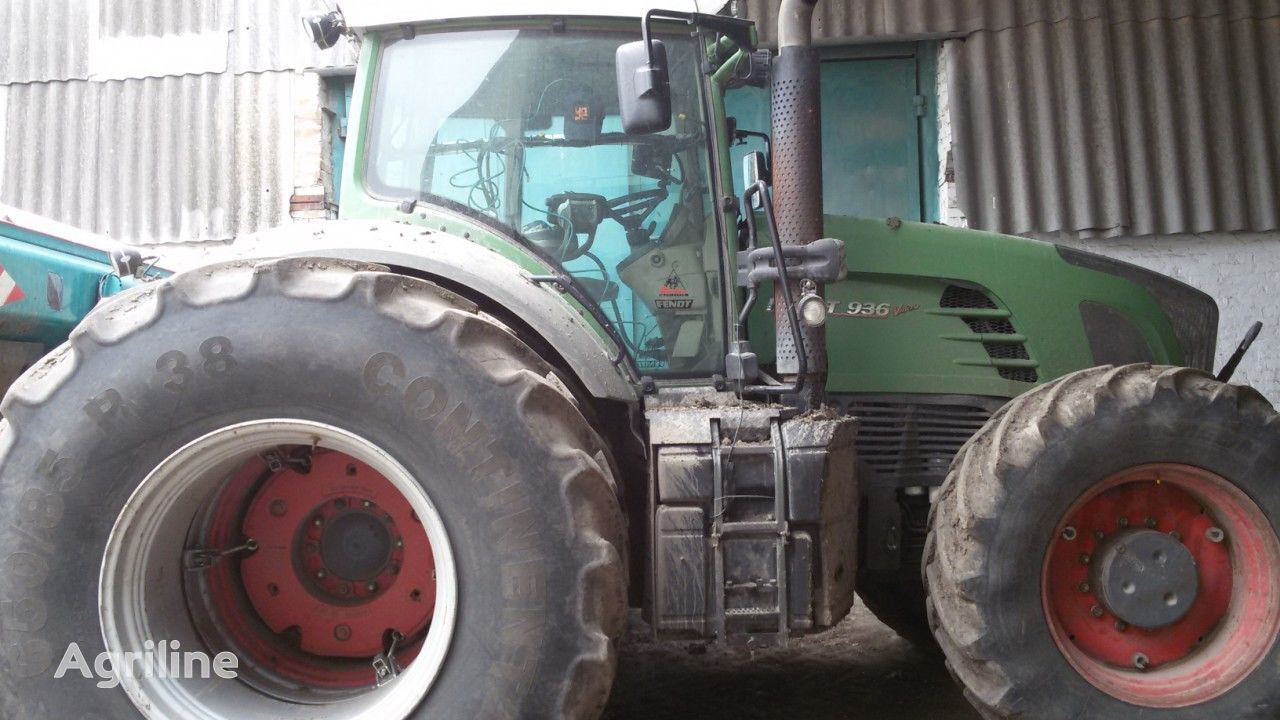 FENDT Vario 936 wheel tractor