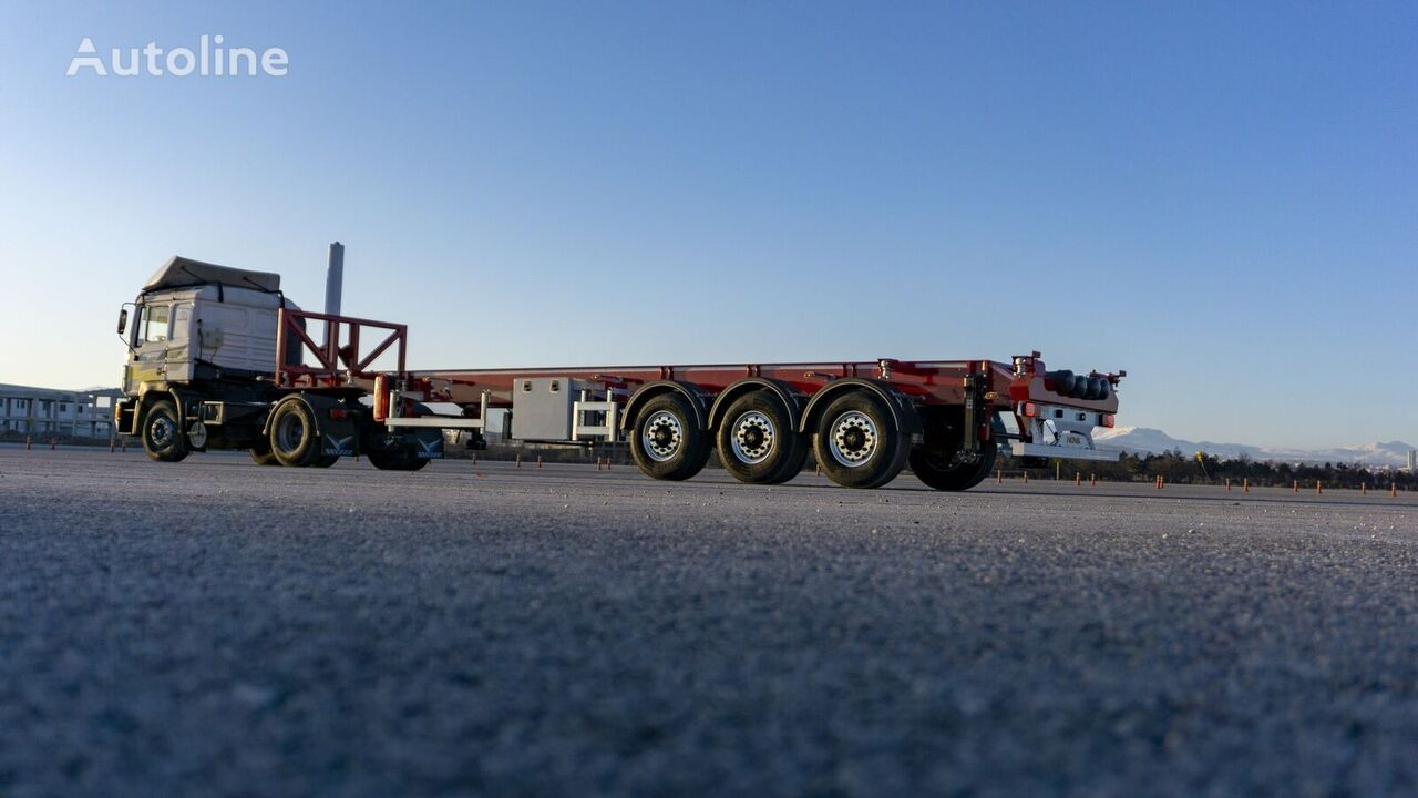 new NOVA 20, 30, 40 Ft Tipping Container Trailer container chassis semi-trailer