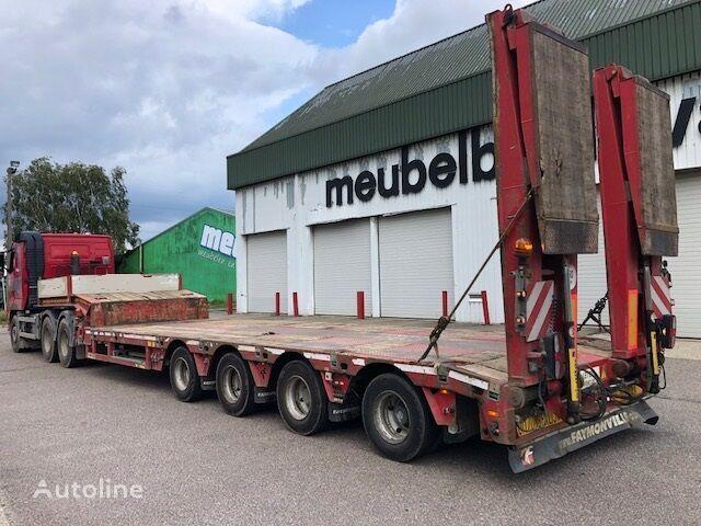 FAYMONVILLE STN-4AU, telescopierbar, Nutzlast 50 ton low bed semi-trailer