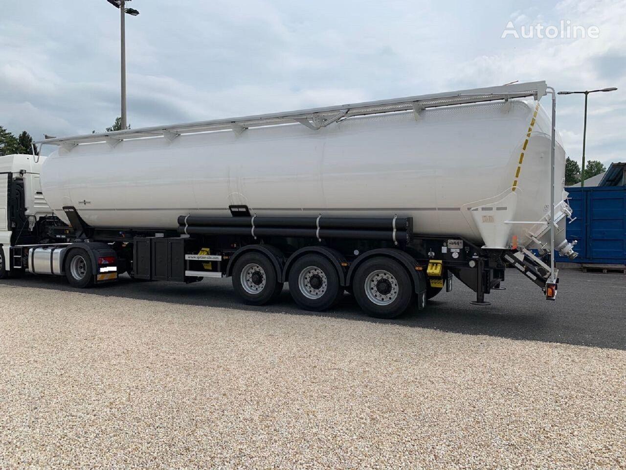 SPITZER SK 2760 CAL silo tank trailer