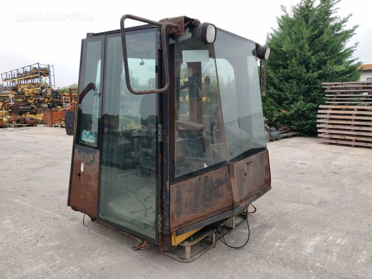 Complete cab in good working condition (1414643) cabin for Caterpillar 988G 2TW00555 wheel loader