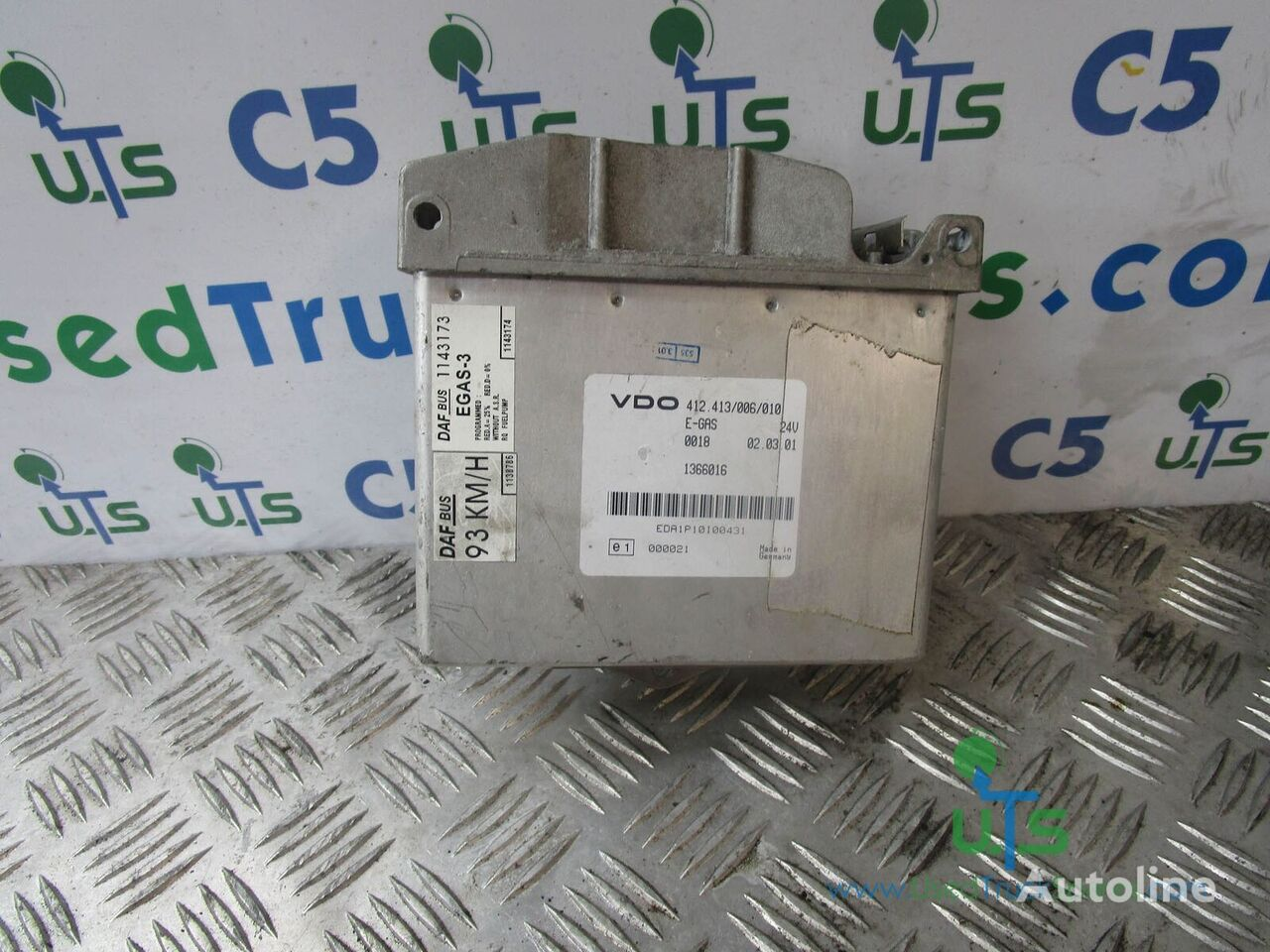 (412.413/006/010) control unit for DAF truck
