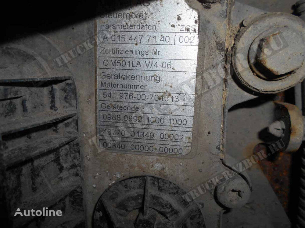 MERCEDES-BENZ DVS OM501LA engine for MERCEDES-BENZ tractor unit