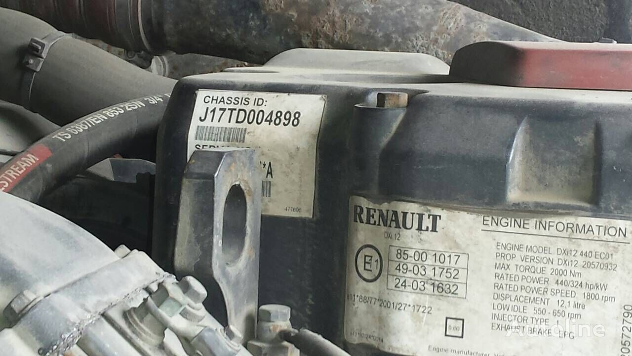 RENAULT DXI12 engine for RENAULT Magnum truck