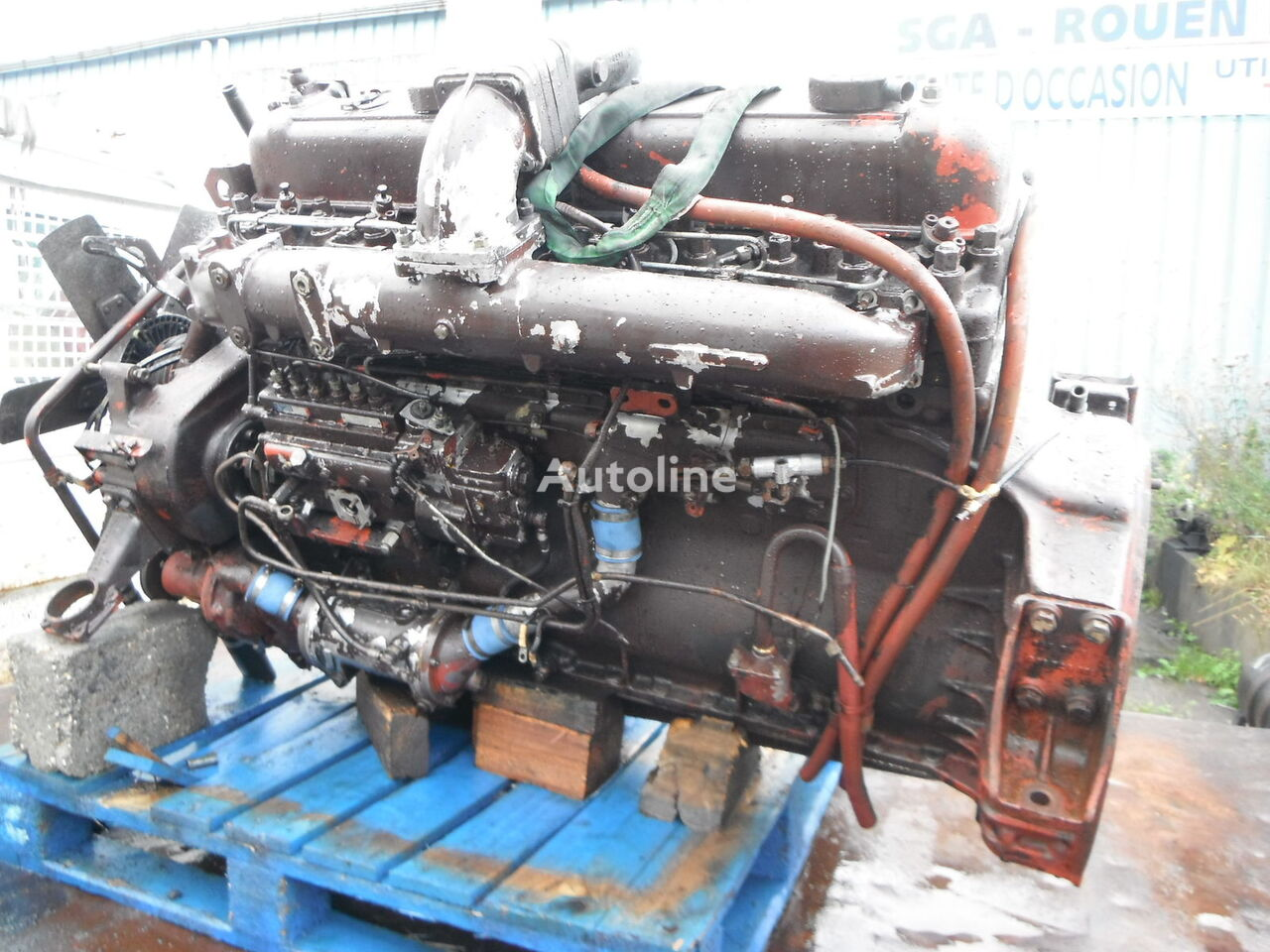 RENAULT MIDS06 engine for RENAULT R340 truck