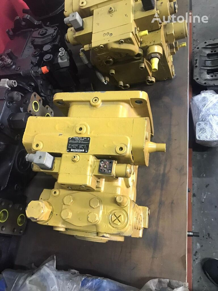 new Rexroth -A4VG180EP2DMT1/32R-NZD02N00XE-S hydraulic pump for LIEBHERR LOADER CRANE loader crane
