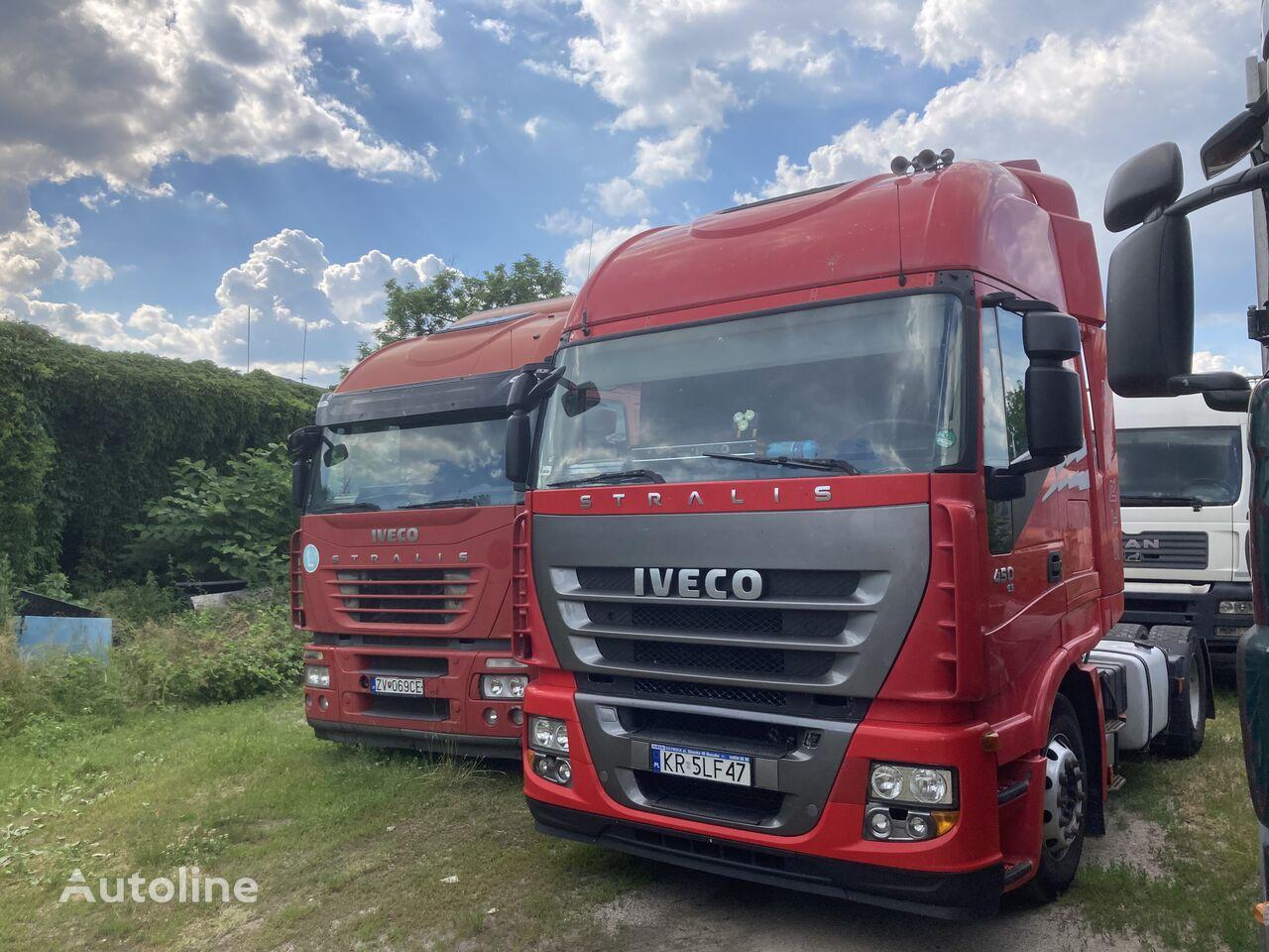 IVECO Stralis 450 Euro 5 EEV tractor unit