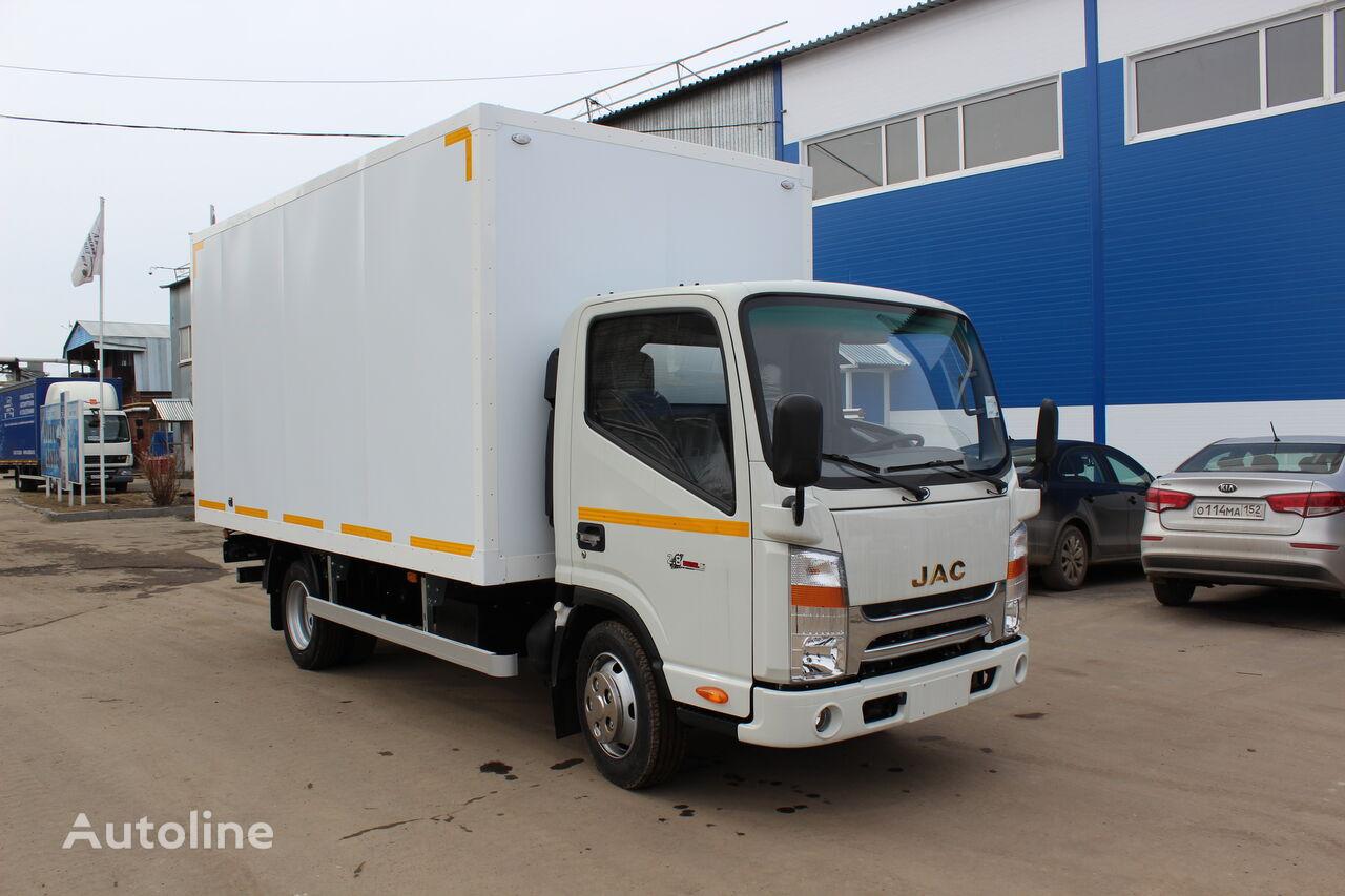 new JAC Promtovarnyy avtofurgon (evropromka) na shassi JAC N56 box truck
