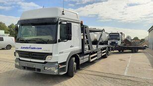 MERCEDES-BENZ Atego 1323 / 7 Cars / Winch / Airco car transporter + car transporter trailer