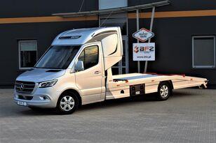 new MERCEDES-BENZ Mercedes-Benz Sprinter 319 V6 LUFTFEDERUNG AB WERK Schlafkabine  car transporter