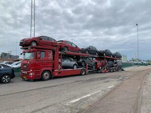 SCANIA 580 V8 KTT Metago/Supertrans 10-Autos Euro6 car transporter + car transporter trailer