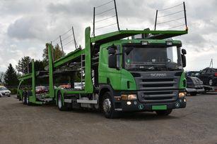 SCANIA P 380 car transporter + car transporter trailer