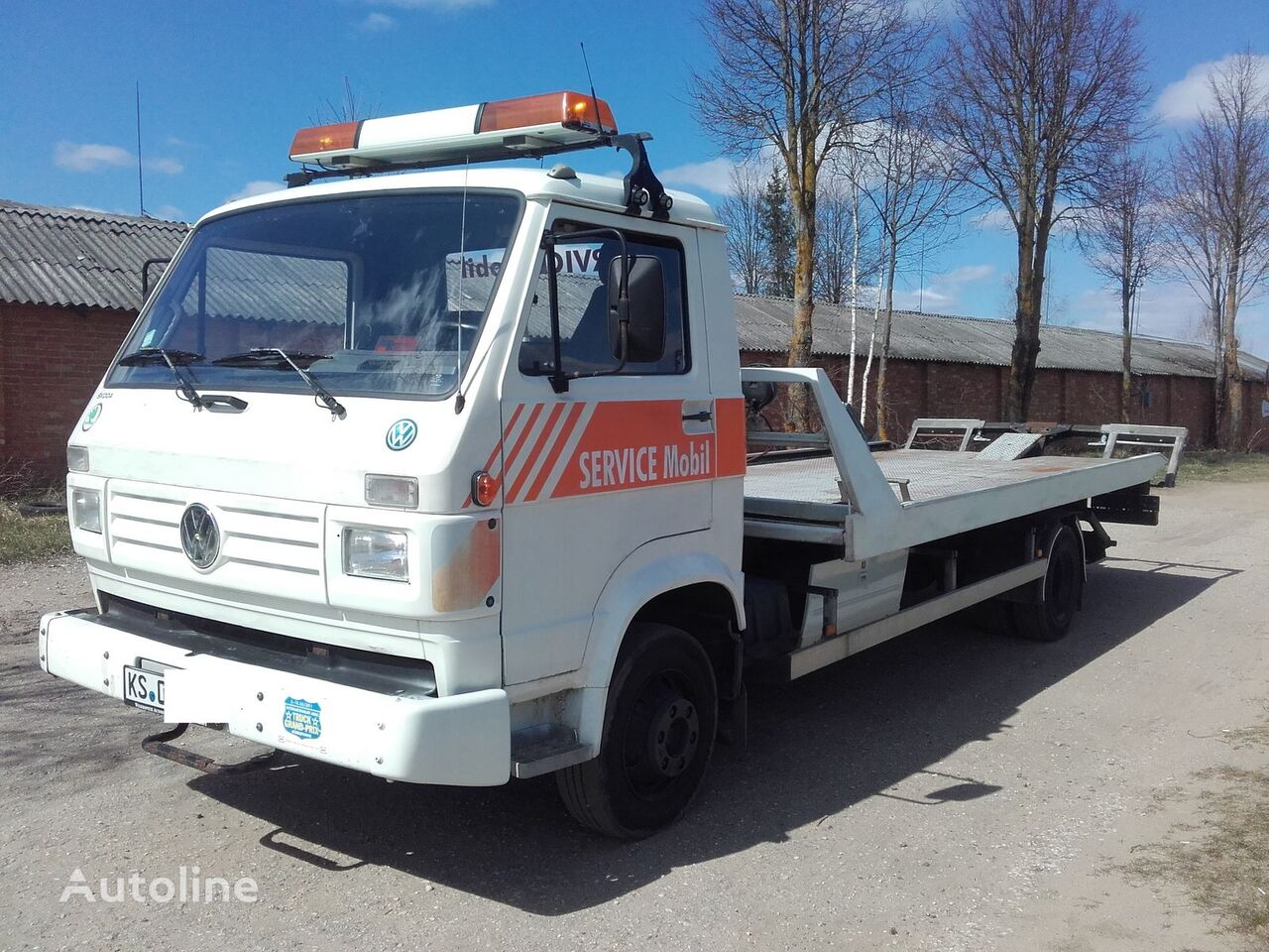 VOLKSWAGEN L80 car transporter