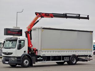 RENAULT LANDER 320 DXI  curtainsider truck