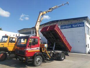 MERCEDES-BENZ 1520K RIBALTABILE + GRU COPMA C1130/3 dump truck