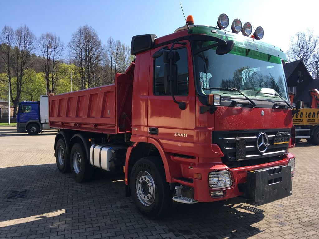 MERCEDES-BENZ 2646 ACTROS MP2 wywrotka 6x4 dump trucks for sale, tipper  truck, dumper/tipper from Poland, buy dump truck, MF13966