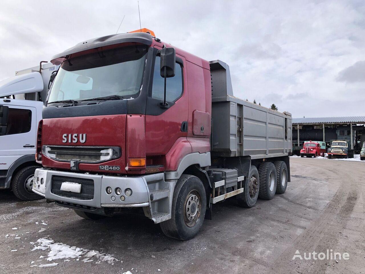 SISU E12 dump truck