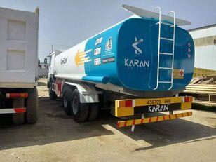 HOWO 6x4 Aluminium Compartments Fuel Tank Truck fuel truck