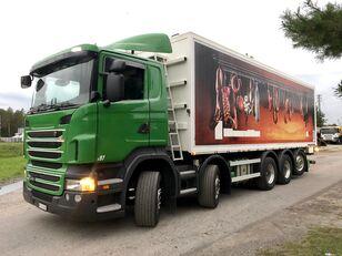 SCANIA R 440 10x4 paszowóz wywrotka do zboża Sprowadzony ze Szwajcarii grain truck