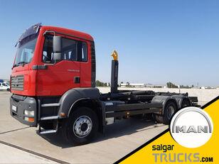 MAN TGA 26.430- hook lift truck