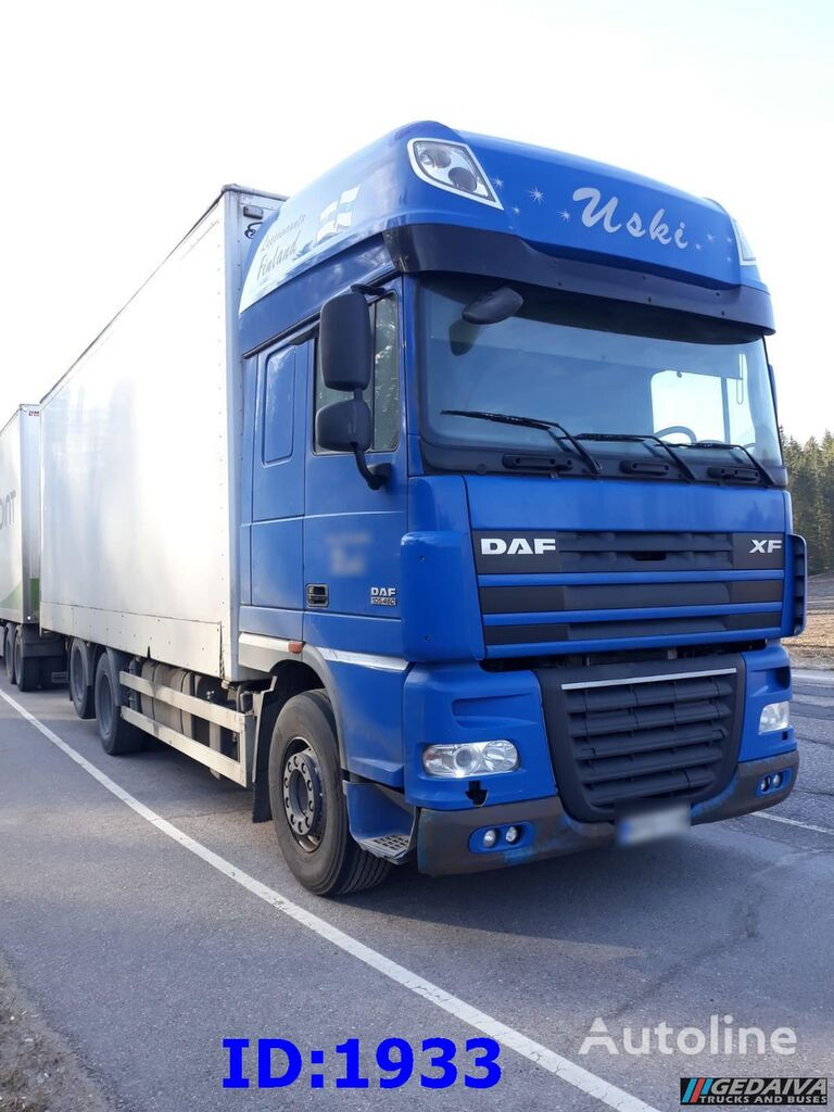 DAF XF105.460 6x2 Manual isothermal truck