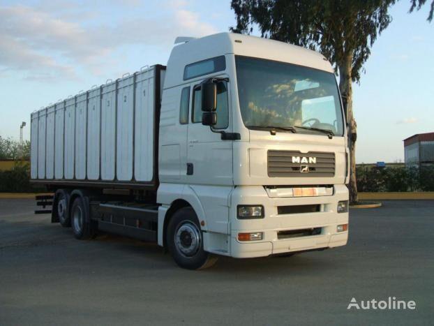 MAN TG 410A XXL livestock truck