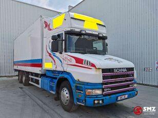 SCANIA 124 420 Torpedo Topline refrigerated truck
