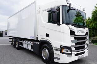 SCANIA SCANIA R500, Euro 6, 6x2, 19 EPAL refrigerator , lifting axle, N refrigerated truck