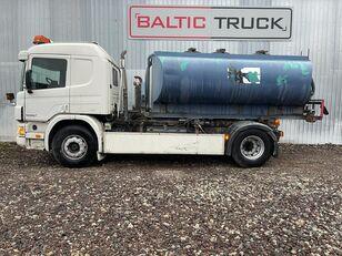 SCANIA P94-300, 4x2 HOOKLIFT + WATER TANK tanker truck
