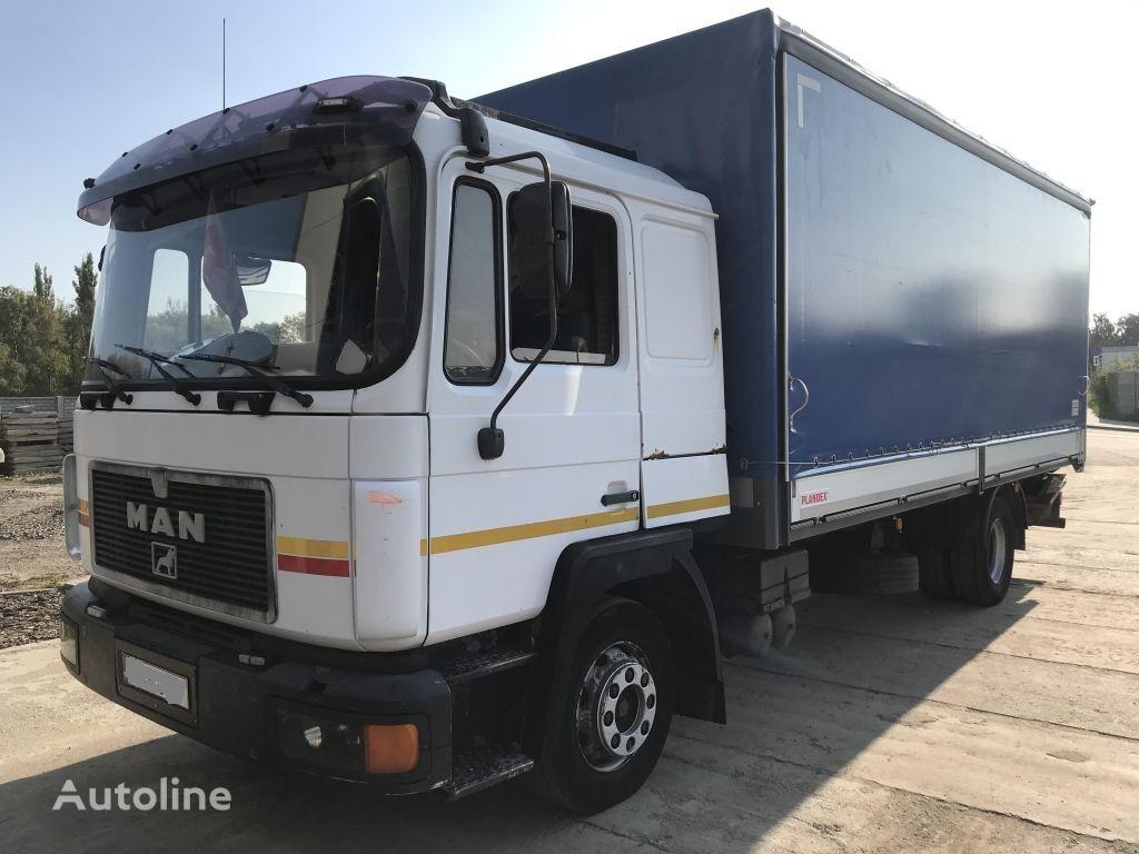 MAN 12.232 Neu Aubau 6 Zylinder tilt truck