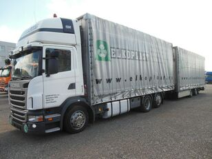 SCANIA G440, UNIVERSAL PRITSCHE PLANE, PLATTFORM,BDF tilt truck + tilt trailer