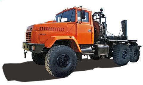 KRAZ 64372-054 (055) timber truck