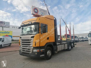 SCANIA 420 timber truck