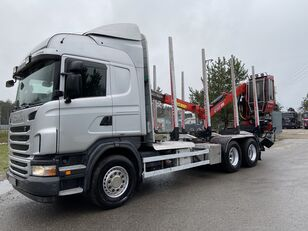 SCANIA R480  timber truck